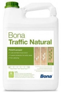Lakier Bona TRAFFIC Natural 4,95L