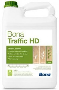 Lakier Bona TRAFFIC HD - Półmat 4,95L